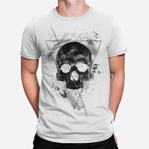 Camiseta Masculina Skull Triangle