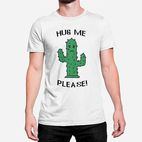 Camiseta Masculina Hug Me Please