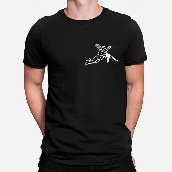 Camiseta Masculina Bad Angel