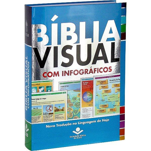 BÍBLIA VISUAL COM MAIS DE 350 INFOGRÁFICOS - NTHL