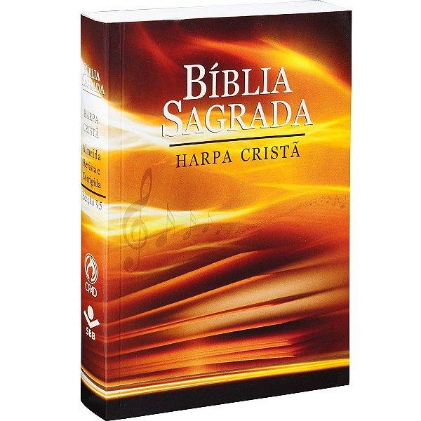 BÍBLIA SAGRADA COM HARPA CRISTÃ - LETRA GRANDE