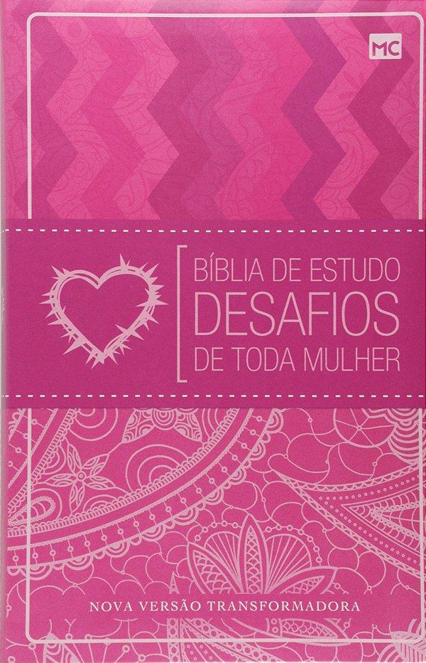 BÍBLIA DE ESTUDO DESAFIOS DE TODA MULHER NVT