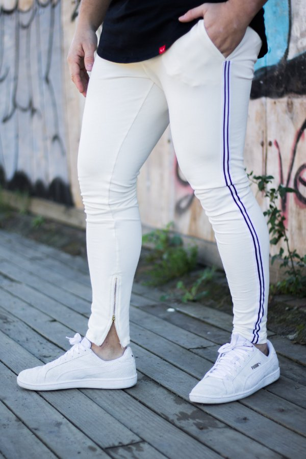 Calça super skinny moletom com power elestano
