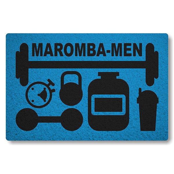 Tapete Capacho Maromba-Men - Azul Maritimo