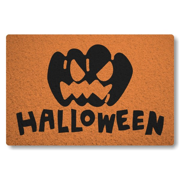 Tapete Capacho Halloween II - Laranja