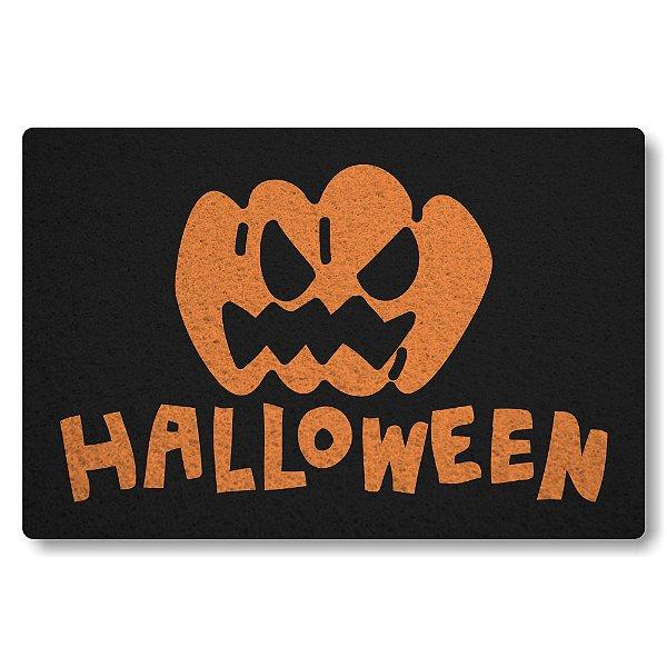 Tapete Capacho Halloween II - Preto