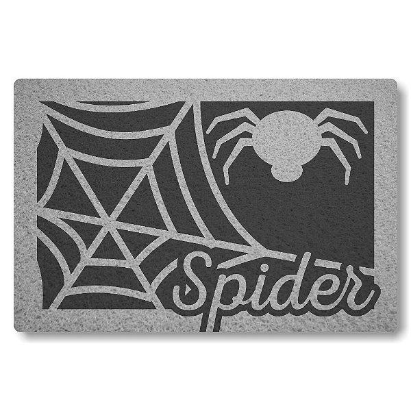 Tapete Capacho Spider - Grafite