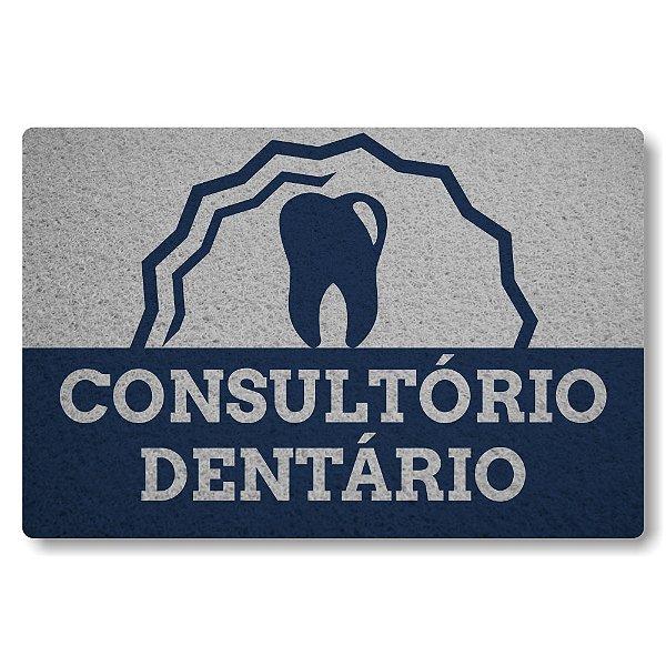 Tapete Capacho Consultorio Dentario - Prata