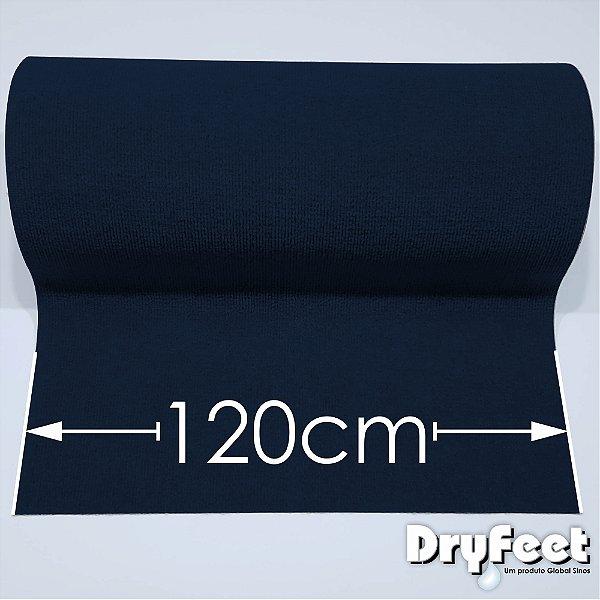 Tapete DryFeet Azul 120cm de Largura por até 10 metros de comprimento