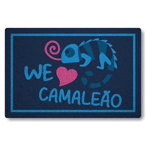 Capacho Linha Tapets Nos Amamos Camaleao