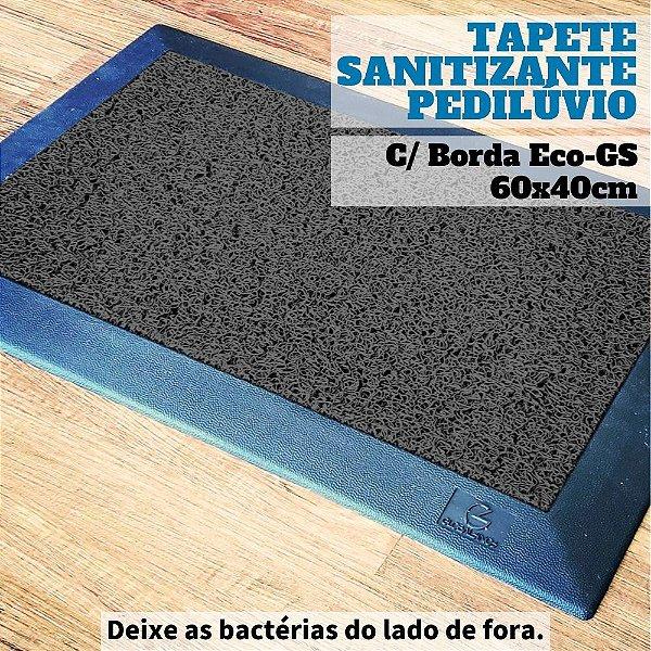 Tapete Pedilúvio Sanitizante Com Bordas Eco-GS 60x40cm