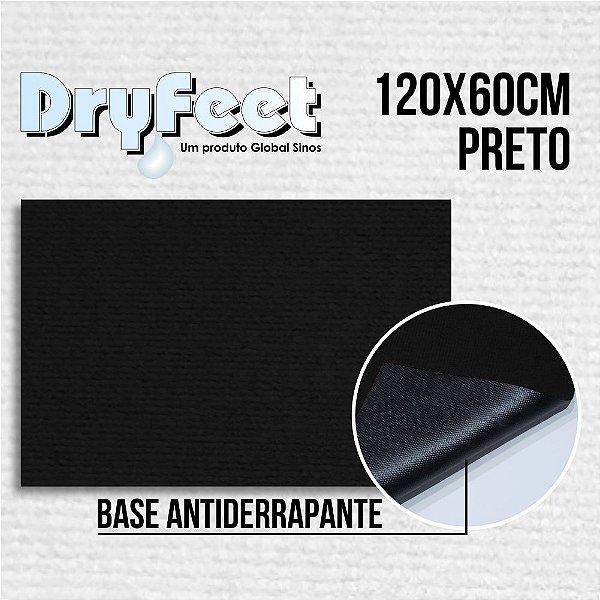 Tapete DryFeet Preto 120x60cm