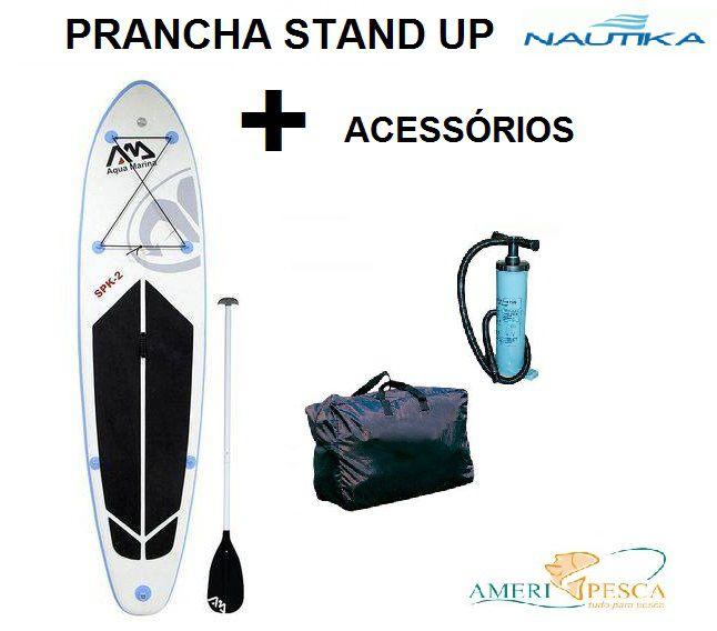 Prancha Inflável De Stand Up Aqua Marina - Nautika - Spk-2