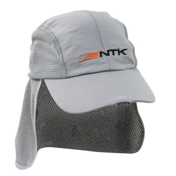 Boné NTK Náutica Legionário - com proteção de pescoço e Lanterna LED frontal a bateria - Pesca Camping Treking Chapéu