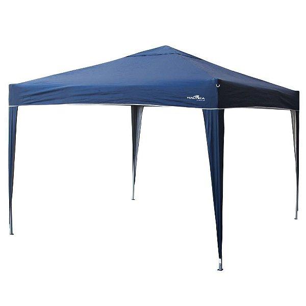Tenda NAUTIKA NTK Gazebo Trixx 3x3m 35200 Poliéster - Azul - Barraca