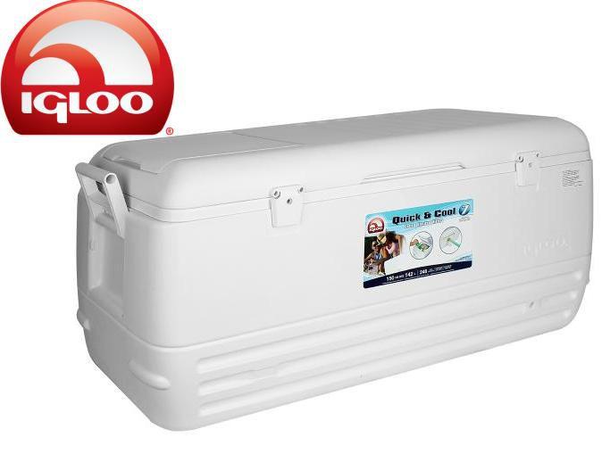Caixa Térmica Igloo Quick Cool 90 lts e 142 Lts