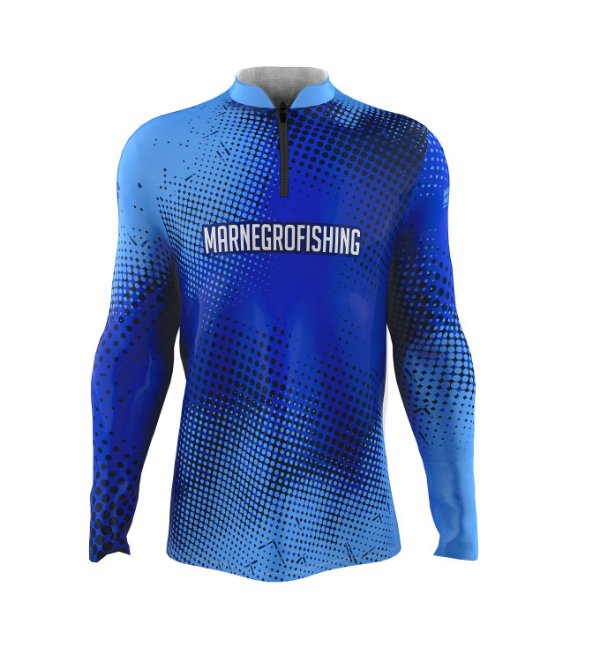 Camiseta para Pesca - Proteção Solar 50+ UV - Clean Azul