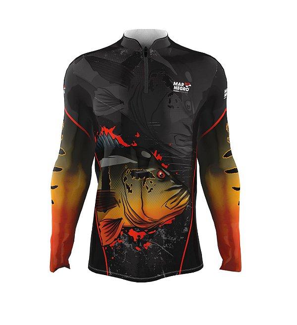 Camiseta para Pesca - Proteção Solar 50+ UV -  Tucunaré Açu