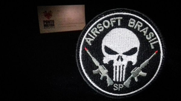 - Patch Justiceiro-Airsoft Brasil-Sp