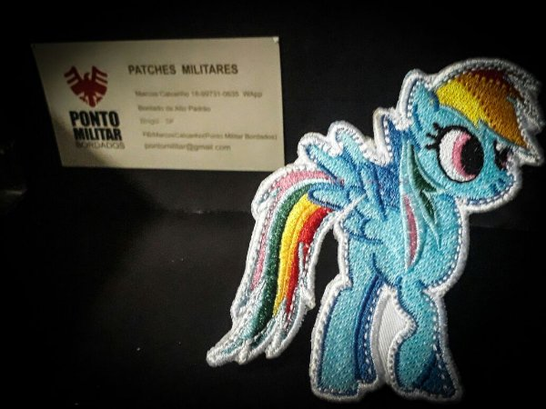Patch-little pony