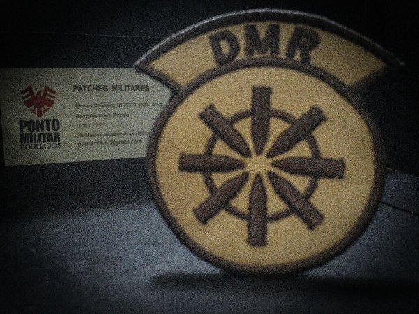 Patch-DMR Airsoft-Paintball