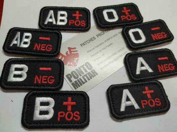 Patch tipo Sanguineo
