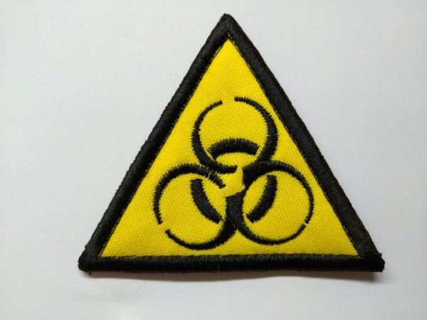 Patch Nuclear Bordado