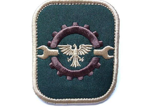 Patch Emblema Engenheiro Airsoft e Paintball