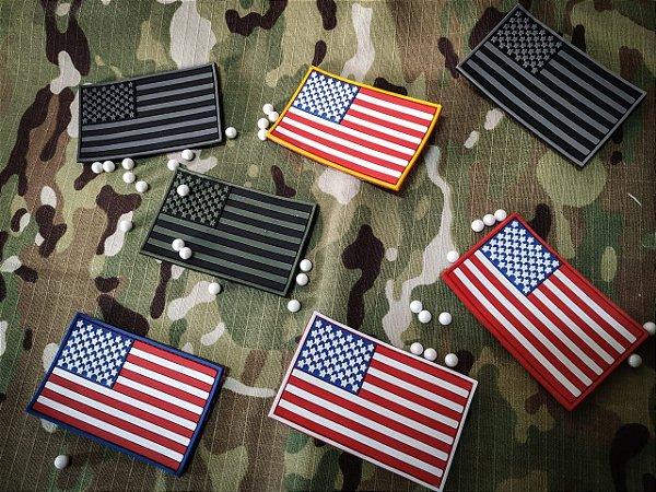 Bandeira dos EUA Emborrachada em3 D airsoft