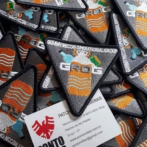 Patch Oficial Grog esquad.