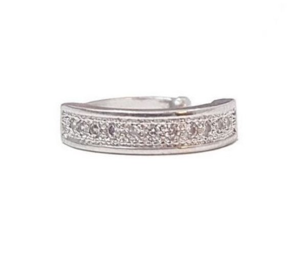 Piercing 1 Fileira Silver