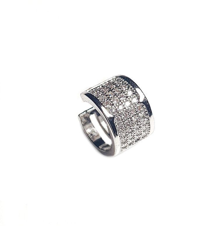 Piercing 4 fileiras Silver Chapado