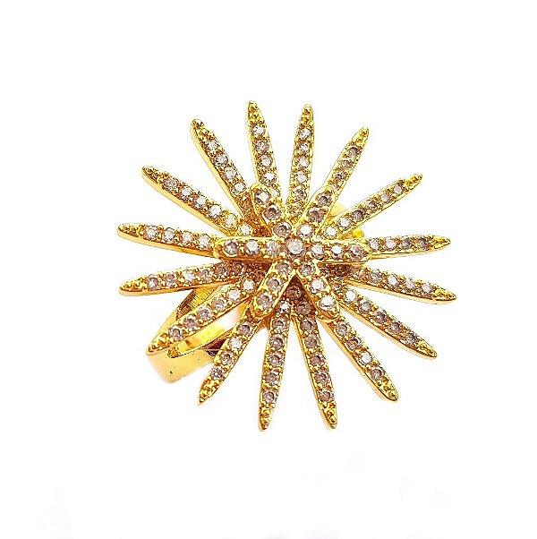 Anel Star Constelação Gold