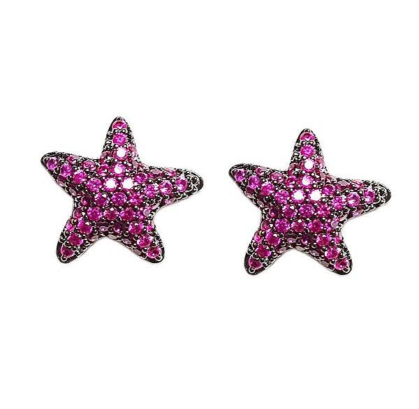 Brinco Star Sea Pink