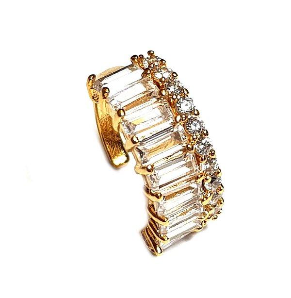 Piercing Canutilhos Cravejados Gold