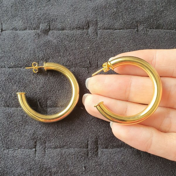 Brinco Argola Jac Gold Pequena