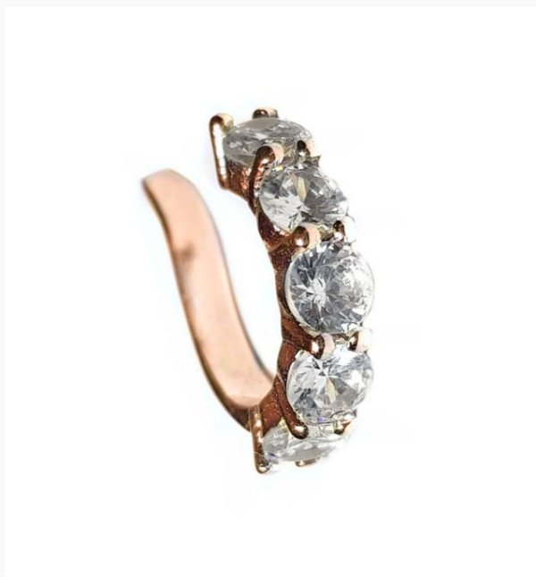 Piercing Diamond Ouro Rosa