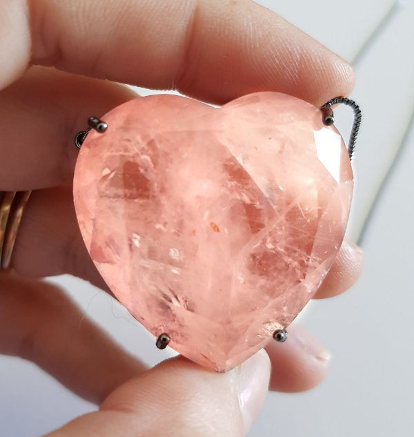 Colar Coração Gran Morganita Fusion Premium
