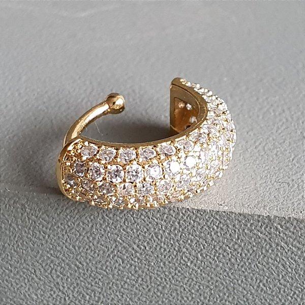 Piercing Strong Cravejado Gold Mistic