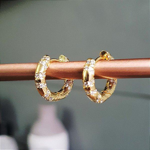 Brinco Argolinha Etnic Gold Mistic