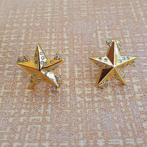 Brinco Estrela Gold