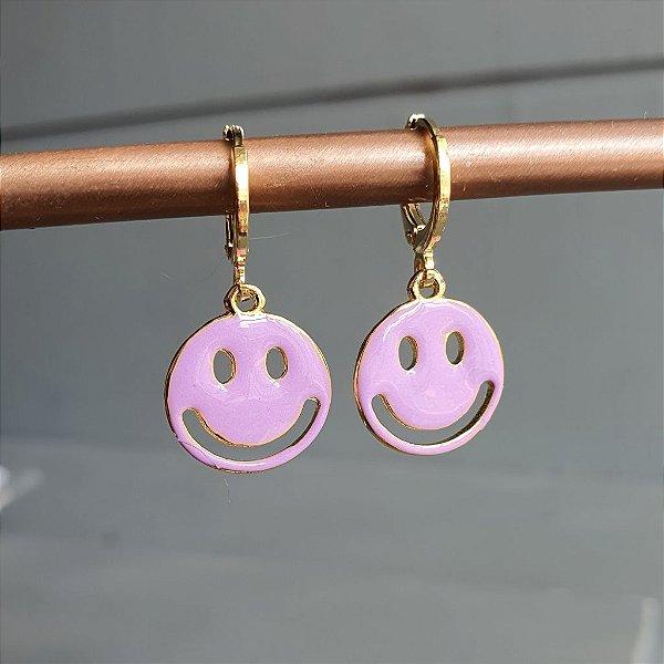 Brinco Smile Lilás