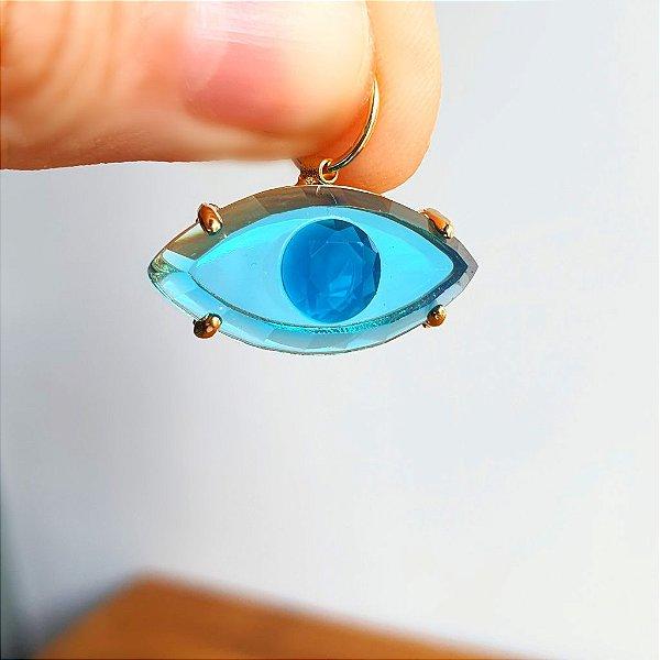 Pingente Olho Grego Azul
