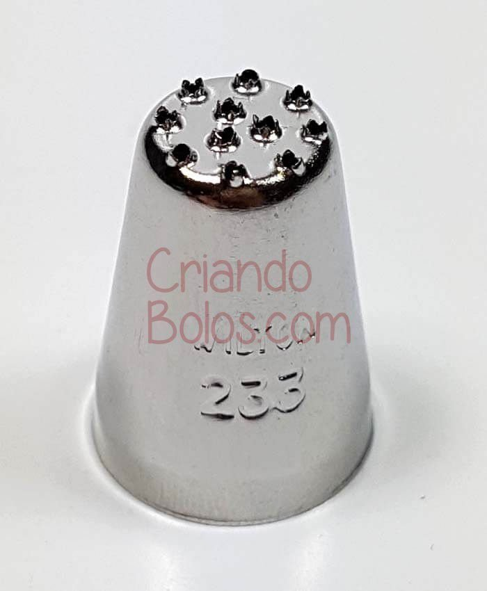 Bico Confeitar CHUVEIRO 233