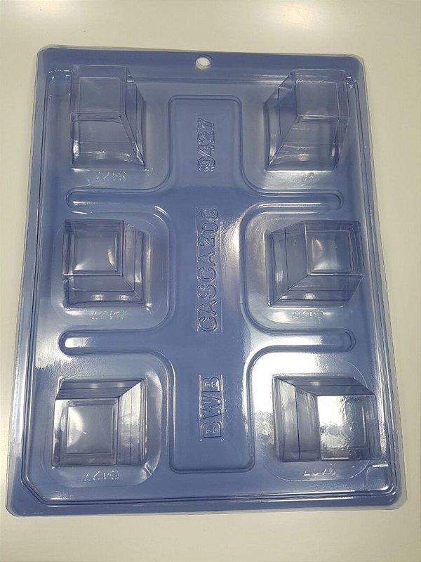 Forma de Silicone COPO MOUSSE 3 - Quadrado