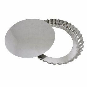 Forma Alumínio TORTA MAÇÃ CRESPA FUNDO FALSO Nº 19