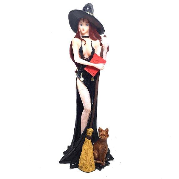 Sabrina Feiticeira Estátua de Resina  19cm