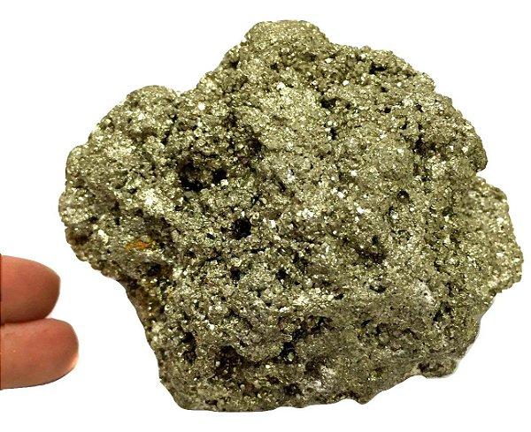 Pedra Sucesso Prosperidade Pirita média de 560g