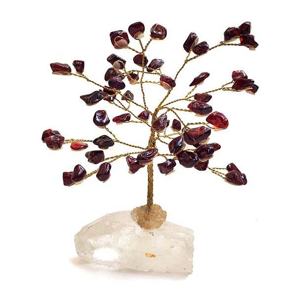 Árvore Drusa de Cristal Granada 13cm