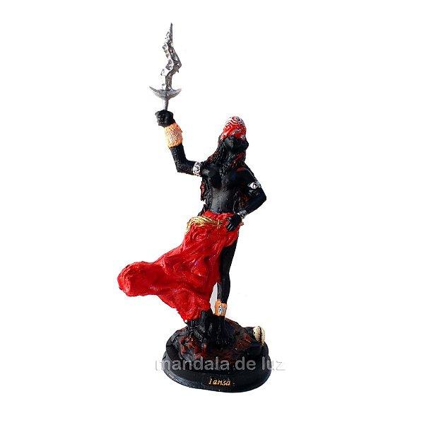 Estátua de Orixá Iansã Resina 20cm